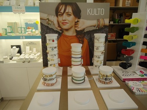dei gioielli esposti della marca Kulto