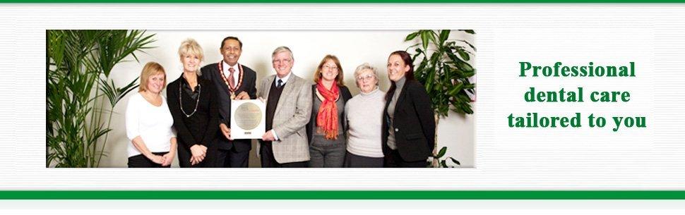Denplan Care scheme - Ferndown, Dorset - Nigel Stribling & Associates - Group Picture