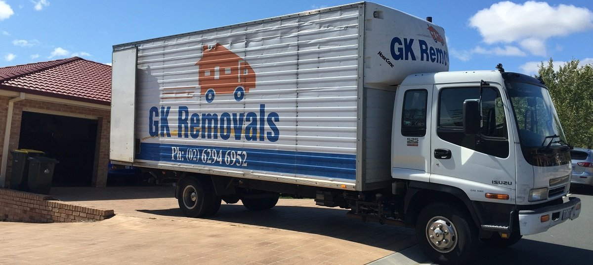 Local removalists truck
