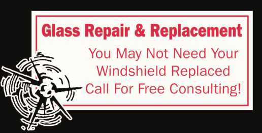 Glass repair and replacement call to action