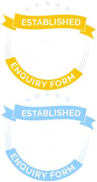 Established since 1992 - Enquiry Form
