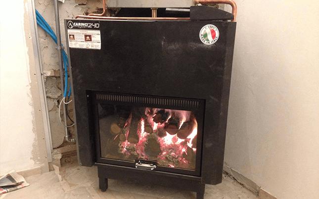 termocamino, termostufa, Termoidaulica Ottentoti, sistemi di riscaldamento, Roma Nord, Roma, Fiano Romano