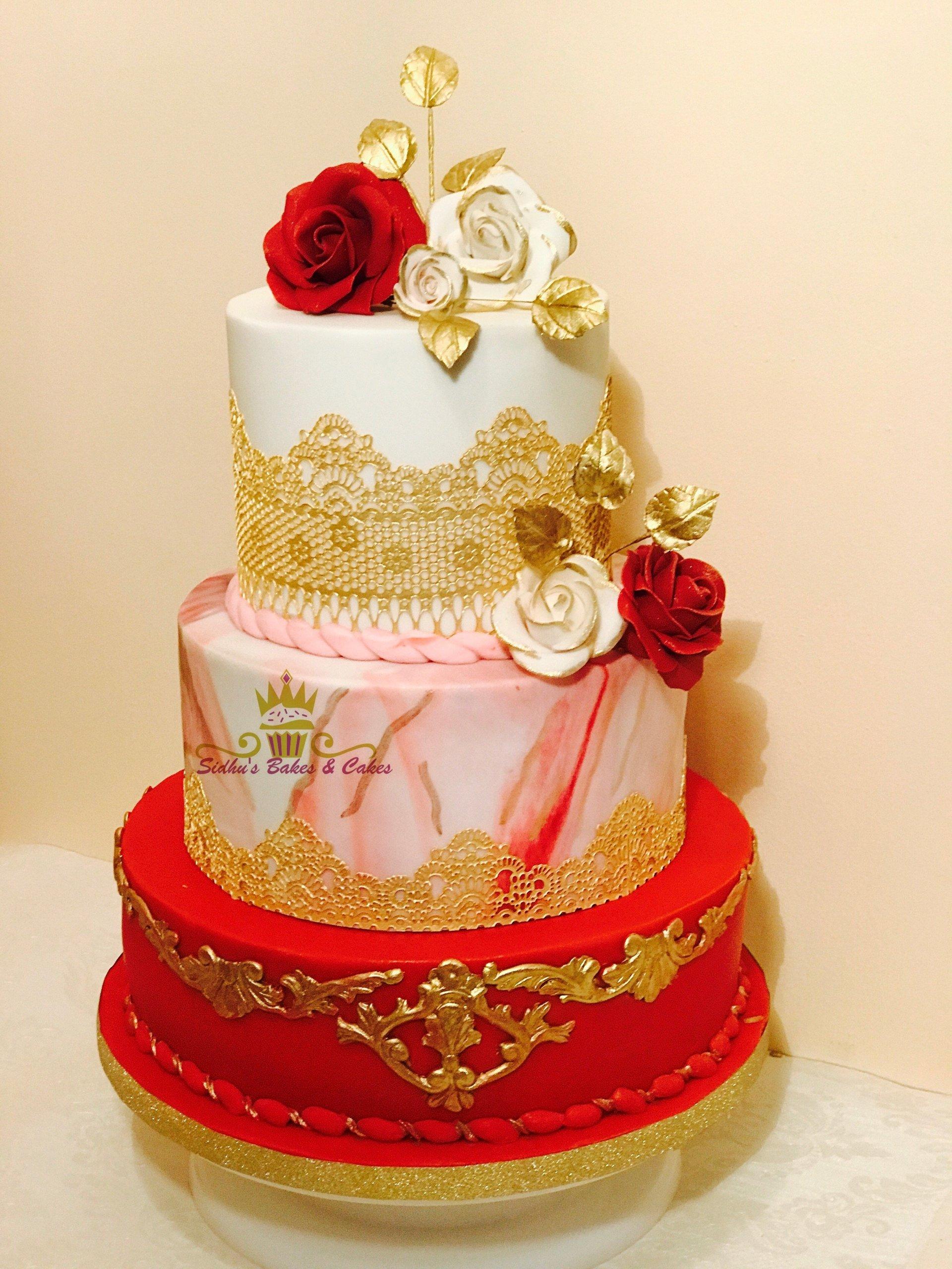 3 tyre cake