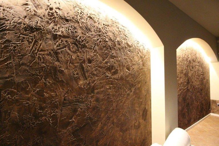 pareti materiche locale