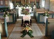 Onoranze funebri, allestimenti floreali funebri