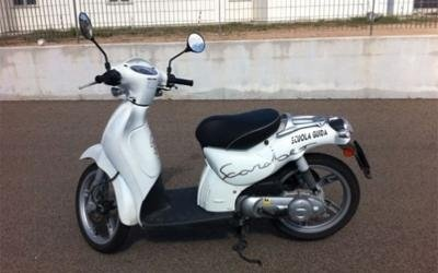 motorcycle for the 125cc licence test