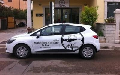 car for driving tests in Olbia