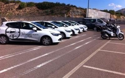 driving lesson vehicles in Olbia