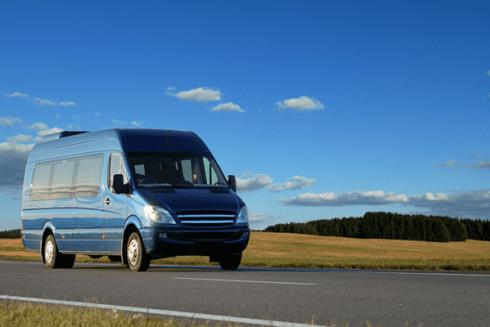 furgoncino per trasporti