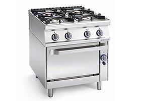 Cucina a gas professionali