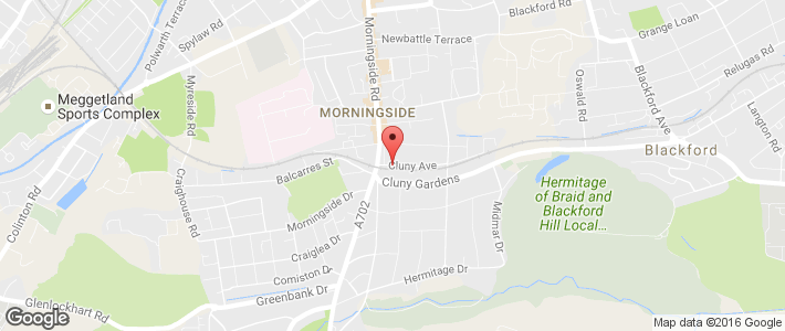 Roofer - Edinburgh - Edinburgh Property Maintenance Ltd - Location Map