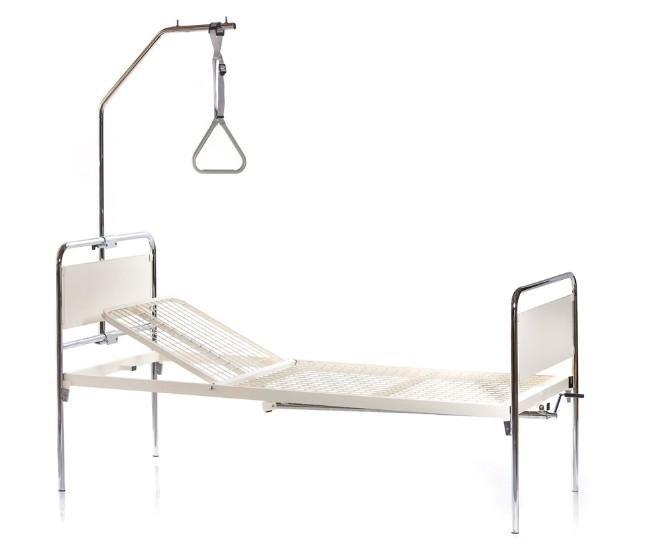 letto ortopedico 1 o 2 manovelle con reggimalato