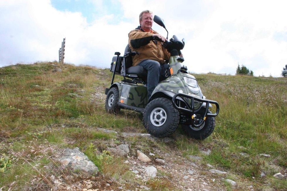 scooter elettrico minicrosser per anziani e disabili