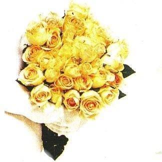 mazzo rose gialle