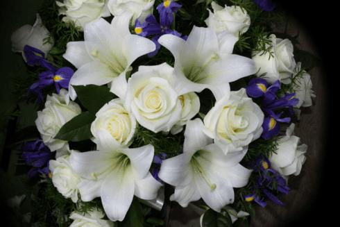 bouquet con violette