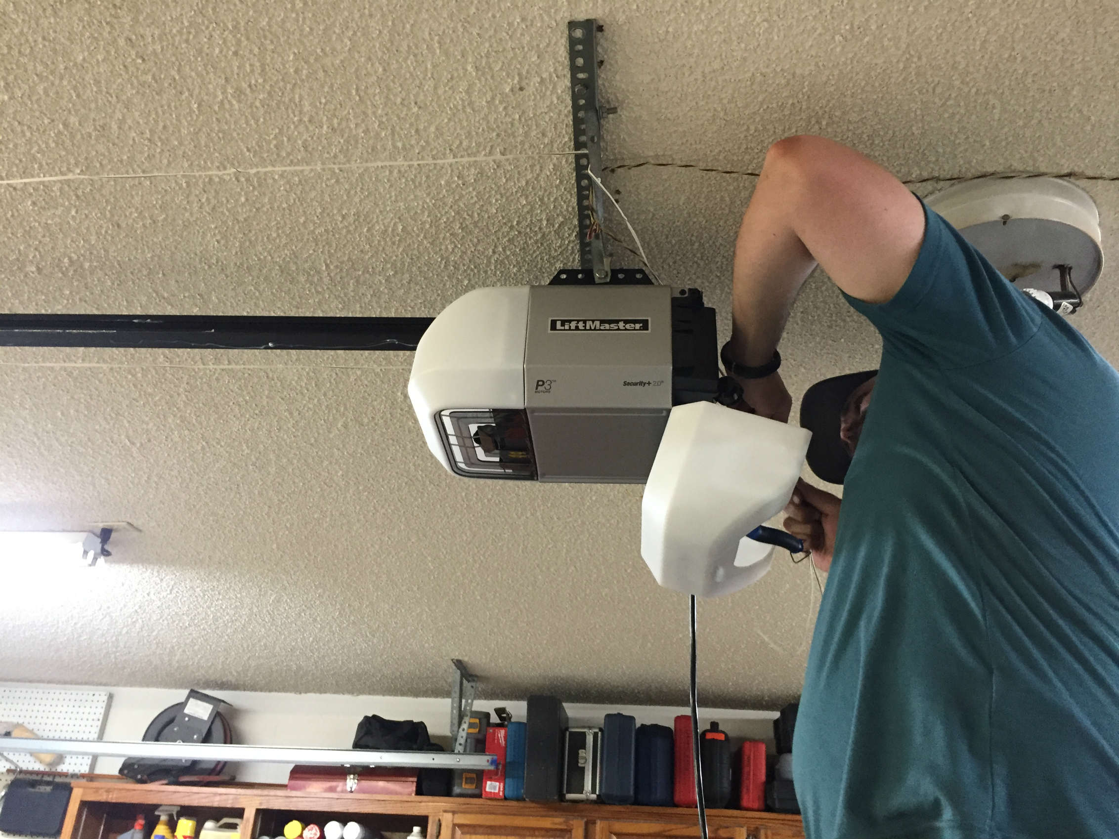LiftMaster Belt Opener Installation