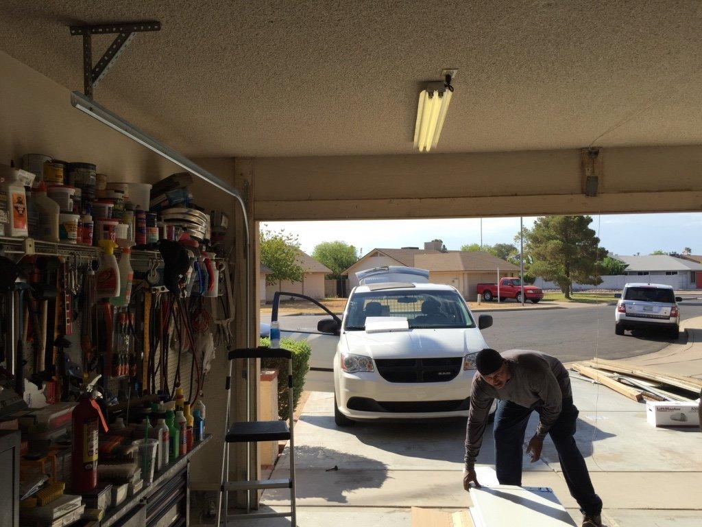 Fully Insulated Garage Door