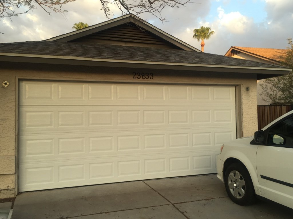 Brand New Garage Door installation