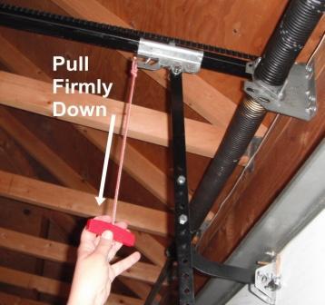 How To Manually Open A Garage Door