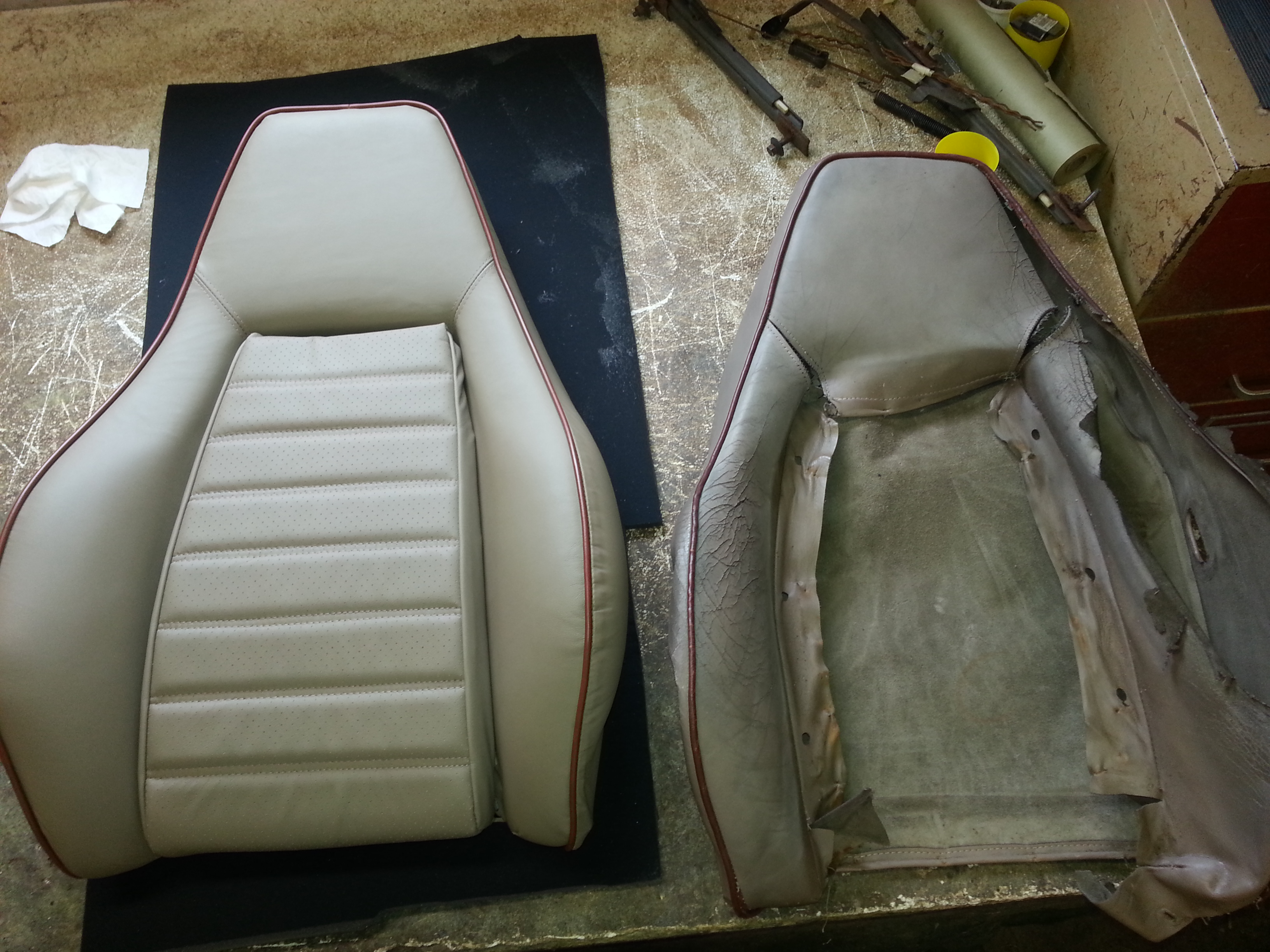Interior design from Fine automobile and motorcycle upholstery company in Ozark
