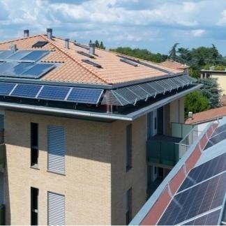 Impianto solare - residence Vittorio Veneto