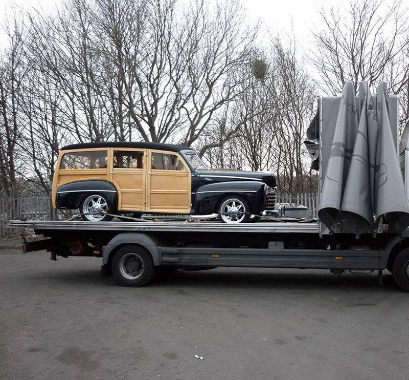 vintage vehicle transportation
