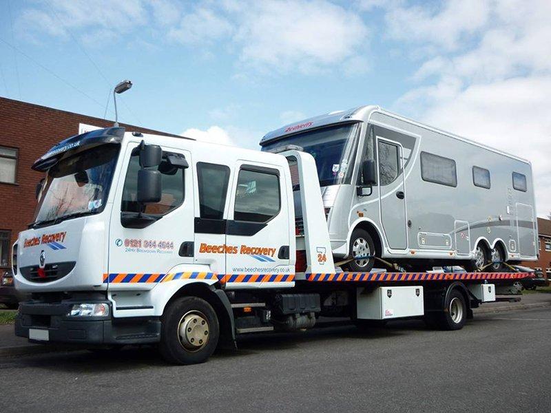 van being recovered