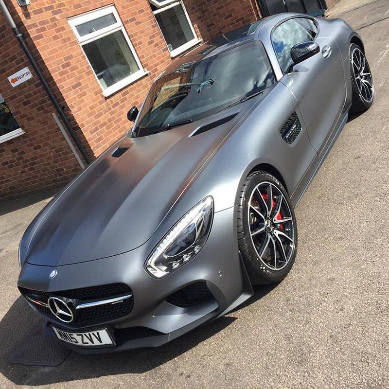 grey coloured car