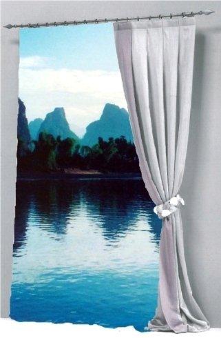 stampa su tenda paesaggio