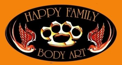 HAPPY FAMILY BODY ART - LOGO