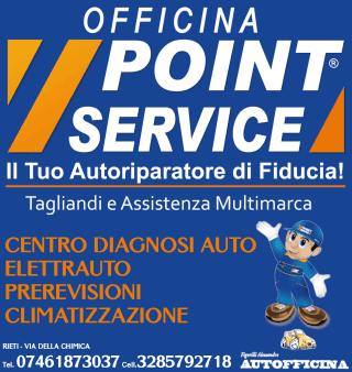 Officina Point Service, Rieti