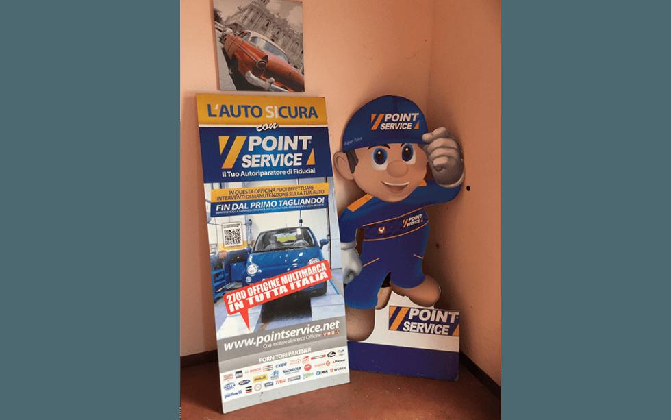 Point Service, officina point service, Rieti