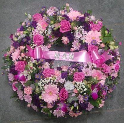 Raised Wreath