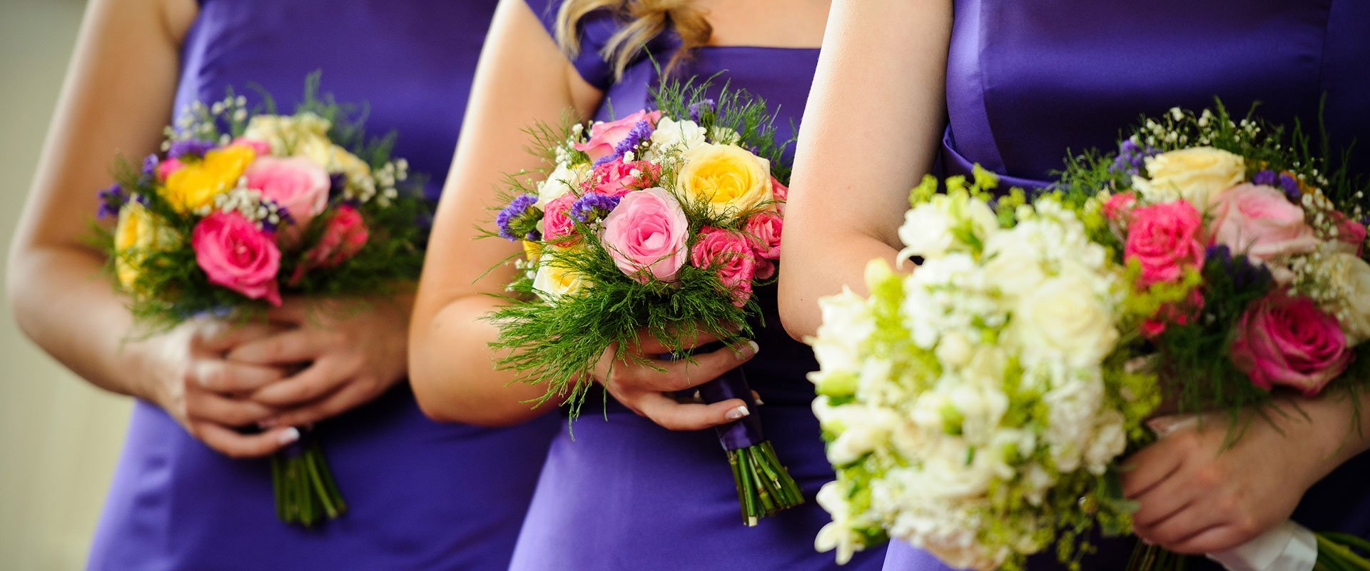 Bridegroom bouquets