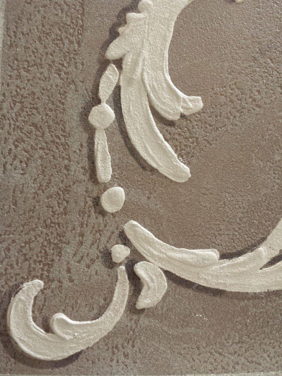 decorazioni in resina in rilievo