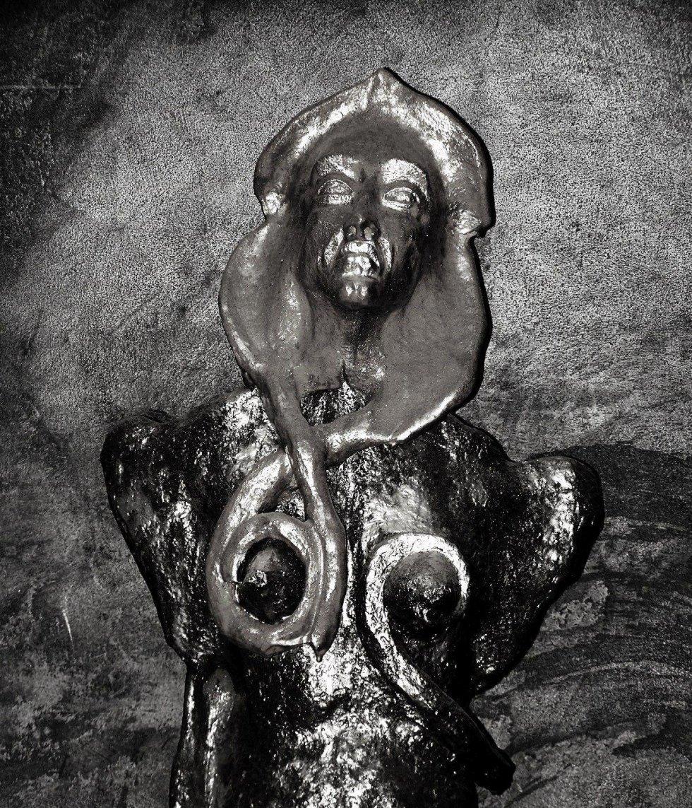 scultura in terracotta