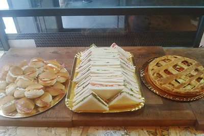 Tramezzini e panini alla paninoteca Fra Diavolo a Roma