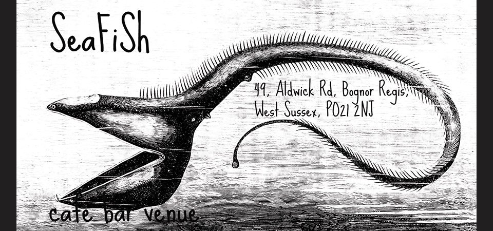 SeaFiSh Cafe Bar Venue business card