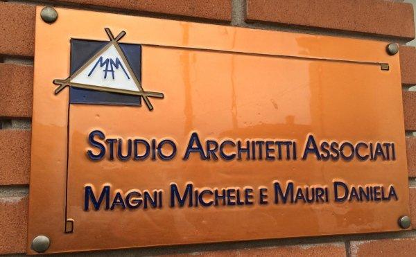 insegna architetti associati magni mauri