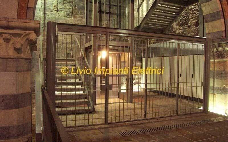 impianto tecnologico e illuminazione museo