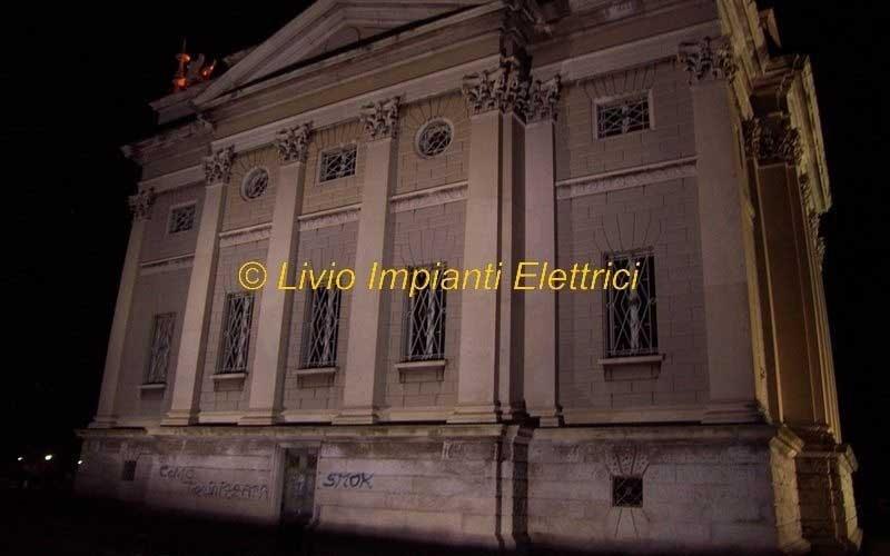 impianto illuminazione e impianti tecnologici museo voltiano