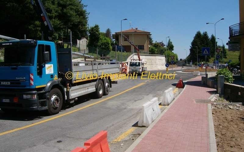 manutenzione impianti di illuminazione stradale