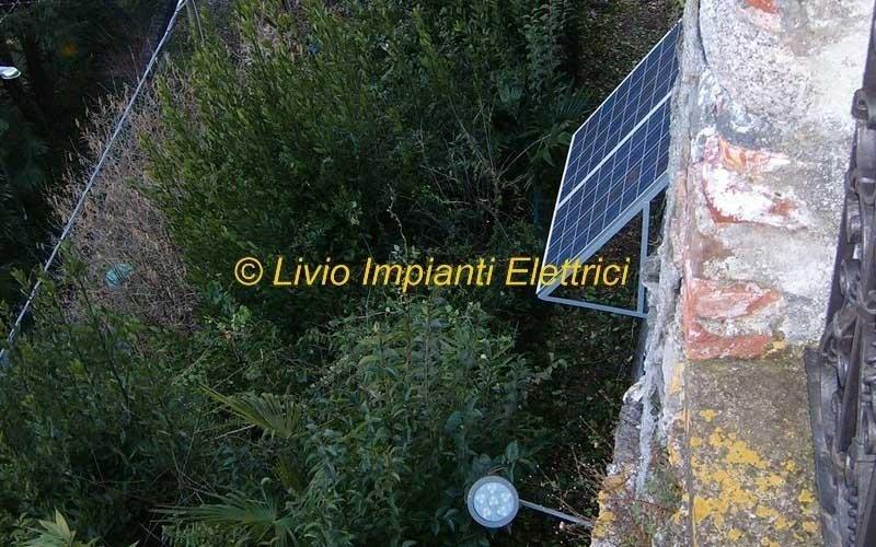 fotovoltaico per illuminazione rgb