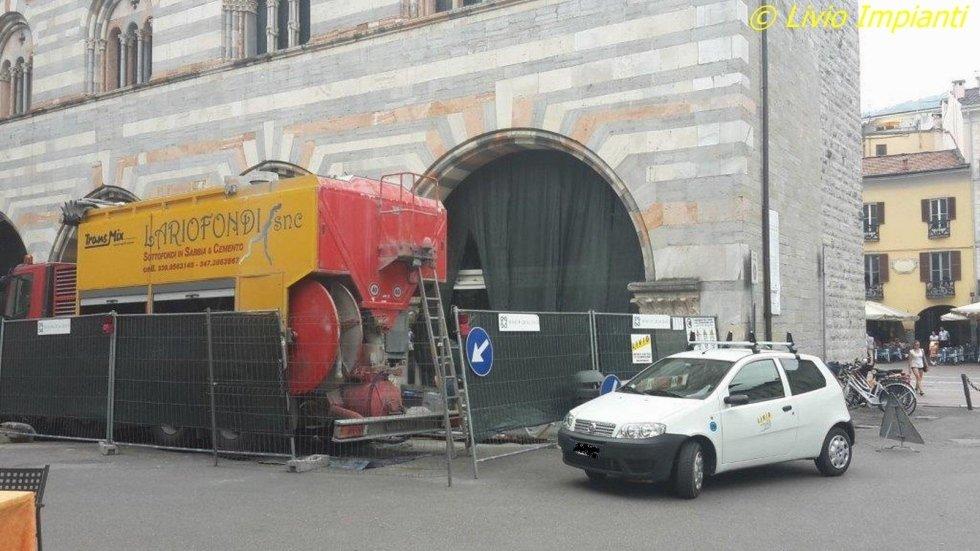 Impianti tecnologici Museo Broletto Como
