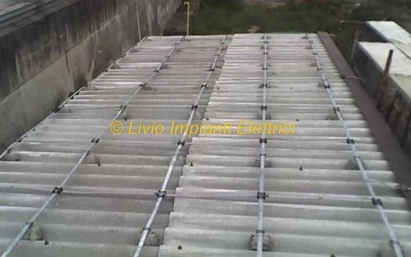 gabbia di faraday centrale gas lecco