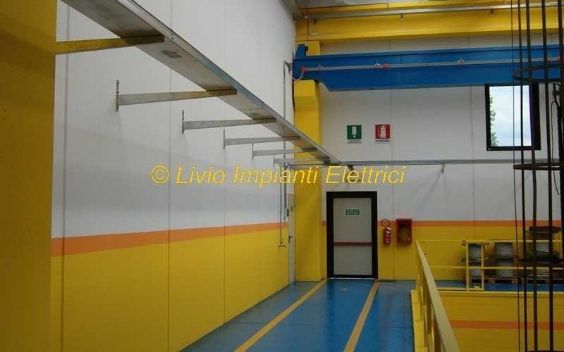 realizzazione impianto complesso industriale