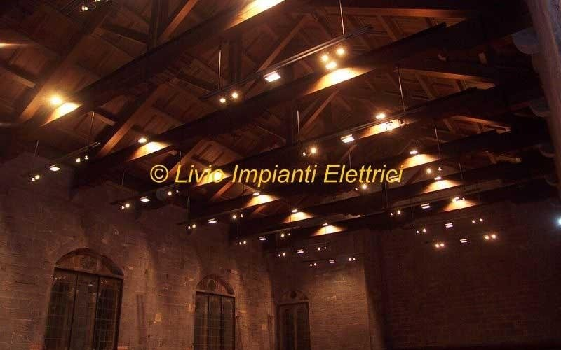 impianto tecnologico e illuminazione museo del broletto
