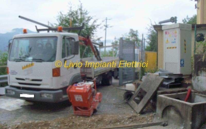 scavi per impianto videosorveglianza anas ss
