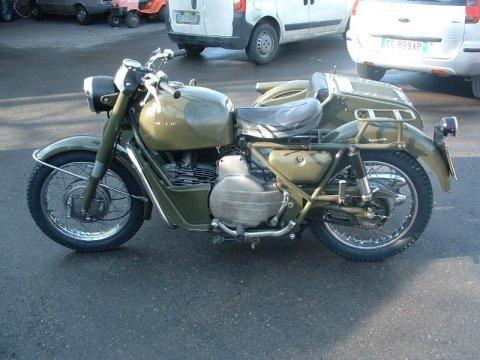 Restauro moto d'epoca