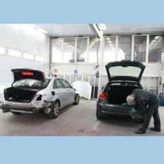 auto in zona preparazione